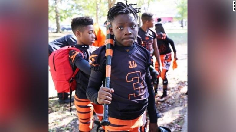 Davon McNeal was visiting family when he was shot in Washington DC.