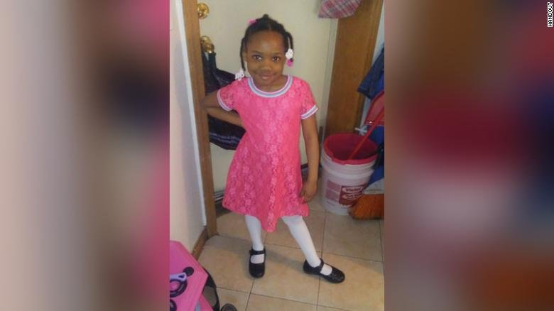 Natalia Wallace was shot while playing with cousins in a yard in the Austin neighborhood of Chicago.