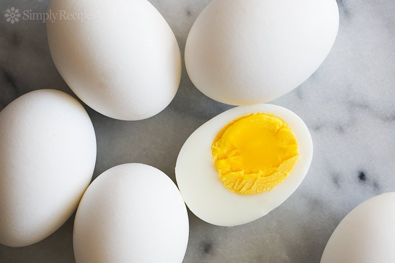 How to tell ifhard boiled eggs are bad