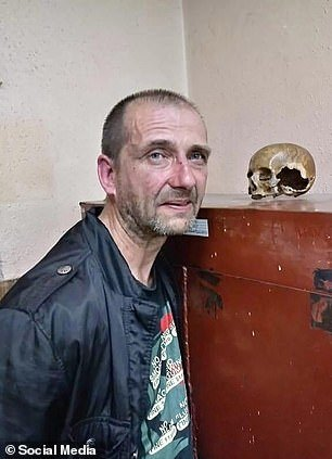 Igor Dvornikov, pictured, told his wife he would