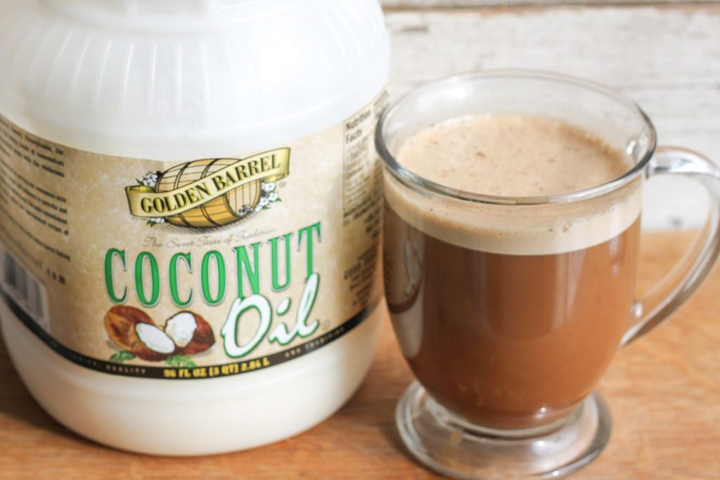 about Coffee with Coconut Oil