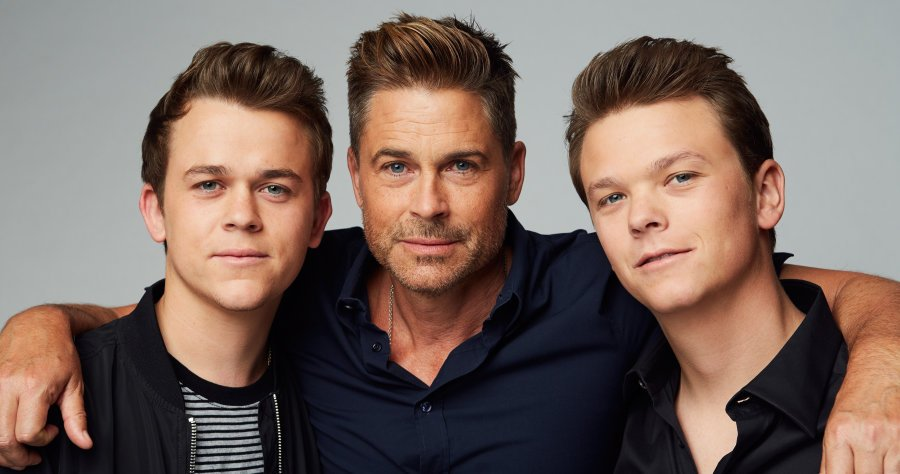 both of rob lowe son