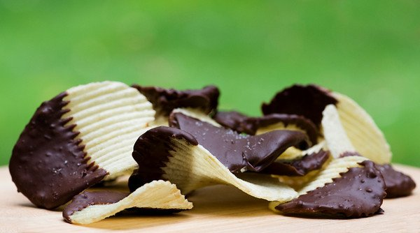 Chocolate-Dipped Potato Chips Recipe - Framed Cooks