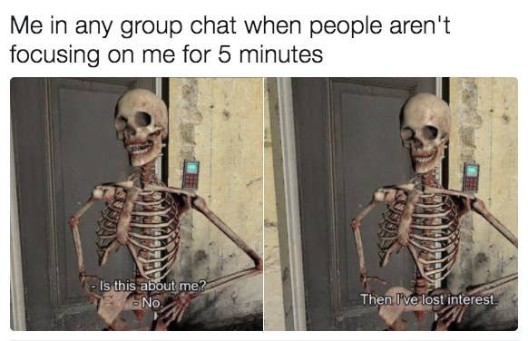 group chat memes