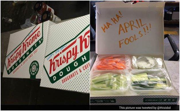 good April fools pranks