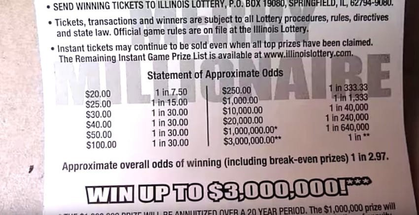 check the odds of lotto