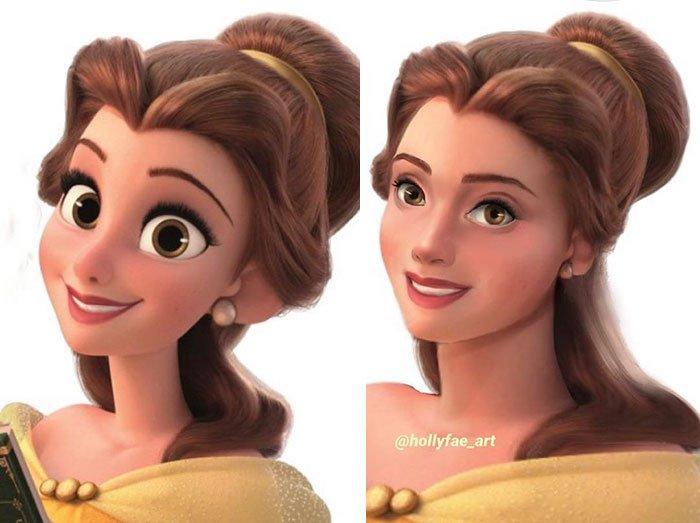 disney-princesses-realistic-faces-holly-