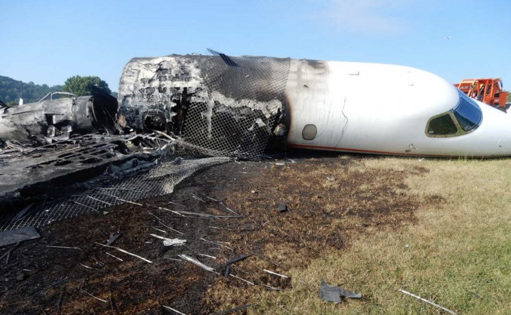 New Dale Jr. Plane Crash Photos Released | FOX Sports