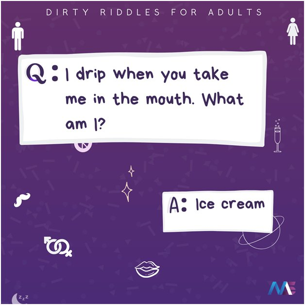 dirty minded riddles