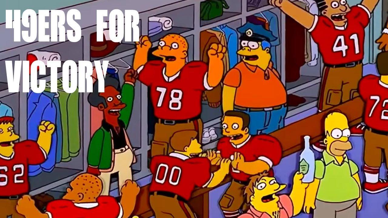 simpsons predict 49ers