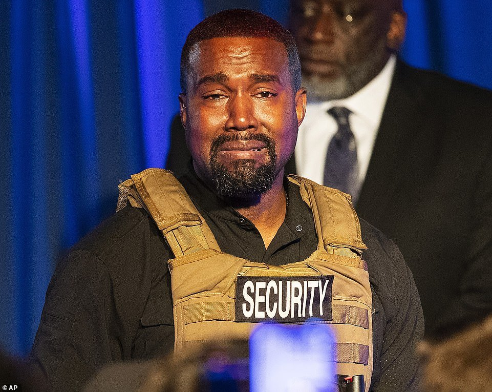 Kanye had previously criticized Biden for telling popular radio show host Charlamagne tha God he