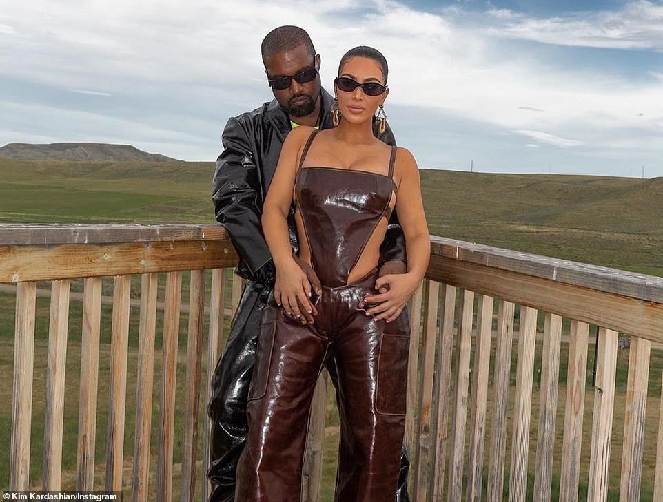 Friends are said to be concerned that Kanye and Kim