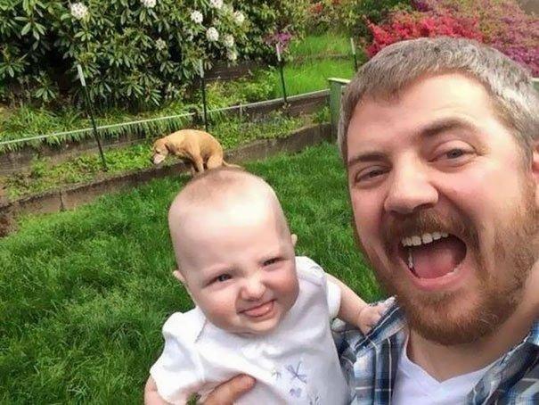 funny selfie fails