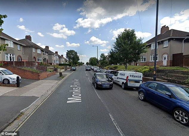 The man, who has not been named, was struck by a car on Monks Park Avenue in the Southmead area of Bristol