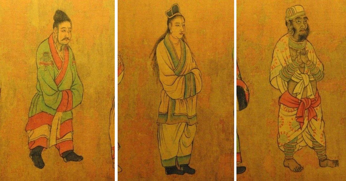 """3 61.jpg?resize=412,232 - """"일본은 왜 신발도 없어?""""... 중국에서 발견된 6세기 각국 사신들의 모습.jpg"""
