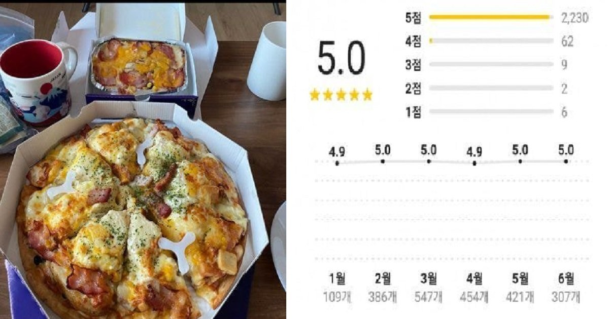 44444.jpg?resize=1200,630 - 평점 5.0 찍은 피자가게 피자 퀄리티.jpg