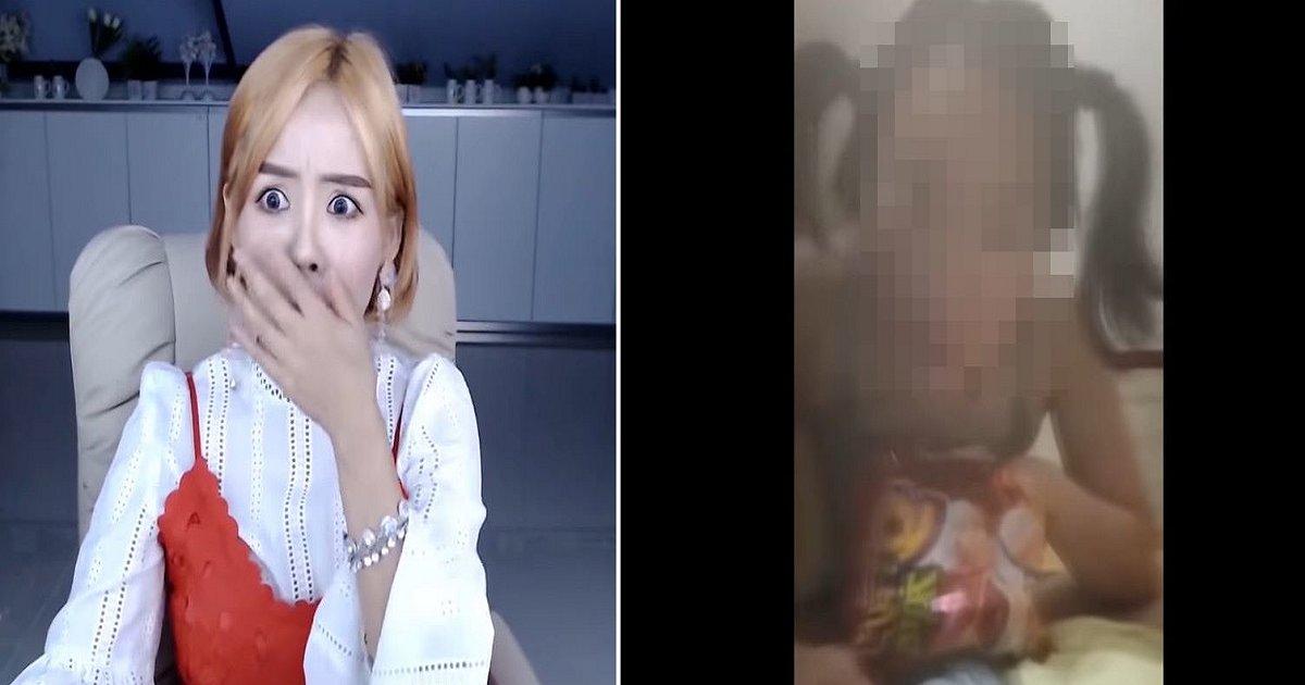 444444.png?resize=1200,630 - 생방송 도중 팬이 보낸 '자위 영상' 공개한 탈북 유튜버