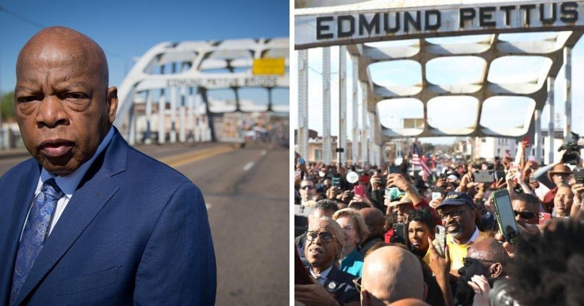 6 53.jpg?resize=1200,630 - John Lewis' Death Renewed Calls to Rename the Edmund Pettus Bridge After the Civil Rights Legend