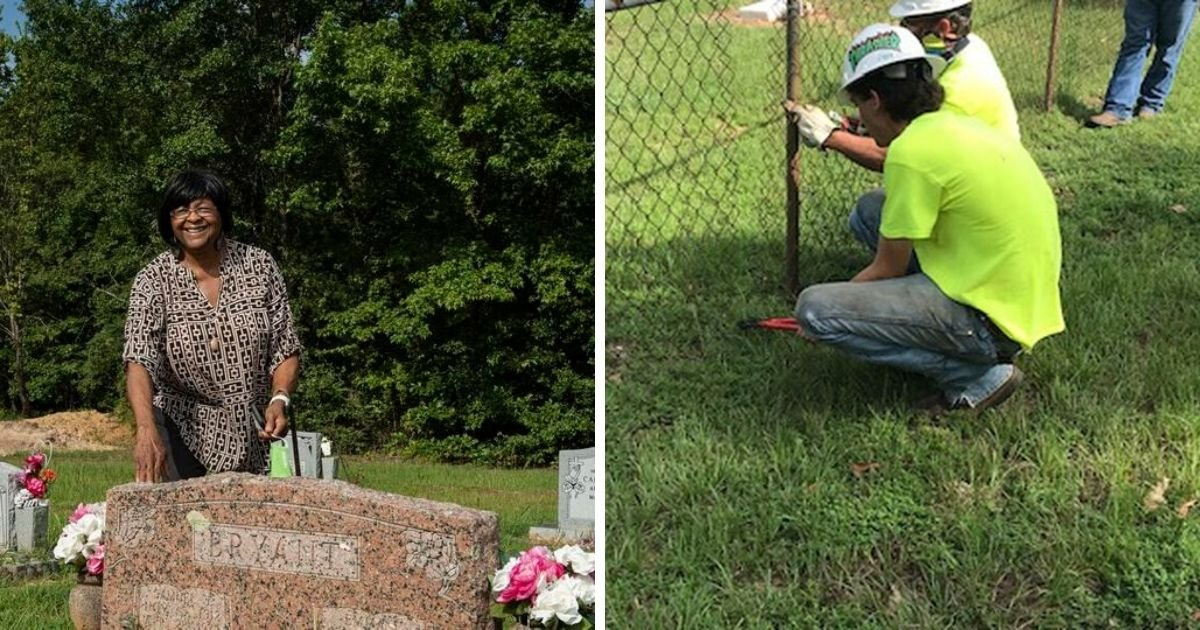 6 55.jpg?resize=1200,630 - Town in Texas Just Removed a Fence Separating Historically Segregated Cemeteries