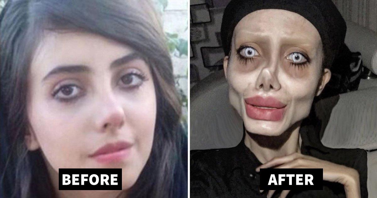 angelina jolie.jpg?resize=412,232 - Gruesome Angelina Jolie Look Alike Is Finally Revealing Her True Self