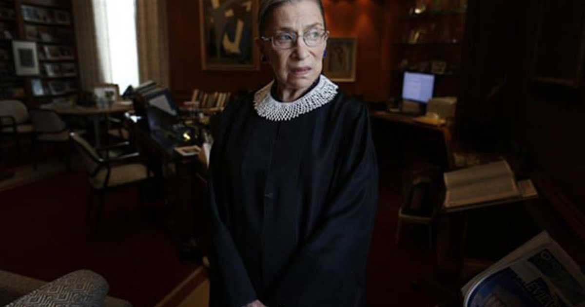 ap1 2.jpg?resize=1200,630 - Ruth Bader Ginsburg Back In Hospital, Treated For Possible Infection