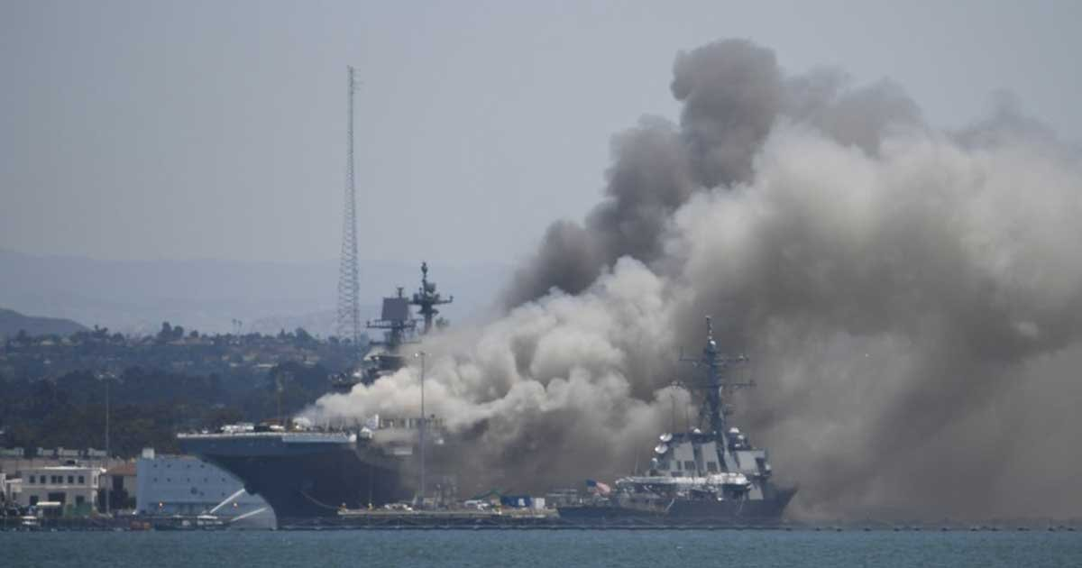 ap3.jpg?resize=1200,630 - Fire Ravaging US Navy Ship In San Diego Could Last For Days