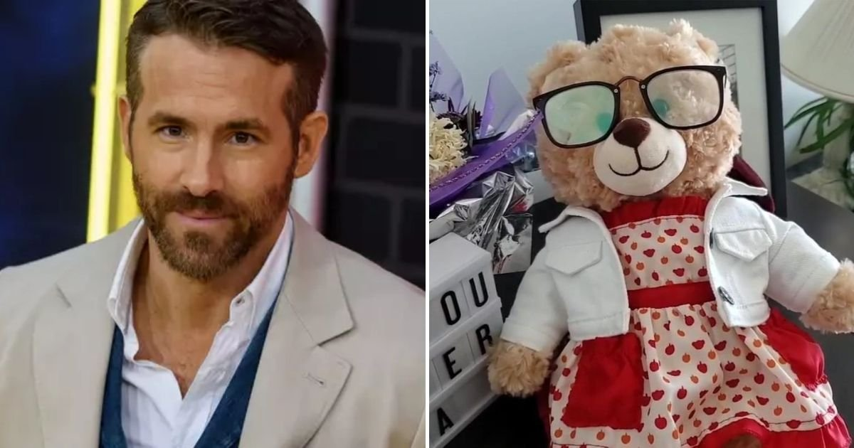 bear5.jpg?resize=1200,630 - Deadpool Star Ryan Reynolds Offers Money Reward For Woman's Stolen Teddy Bear