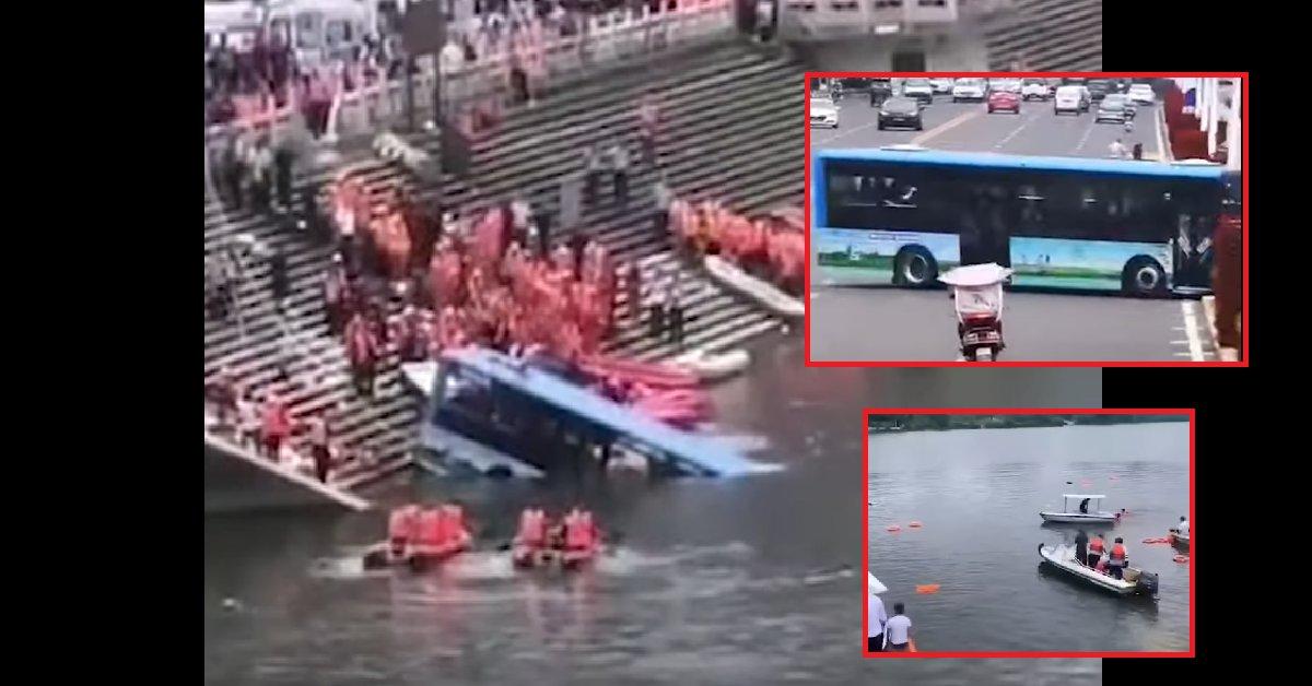 bus.png?resize=300,169 - Un bus change soudainement de direction et plonge tout droit dans un lac