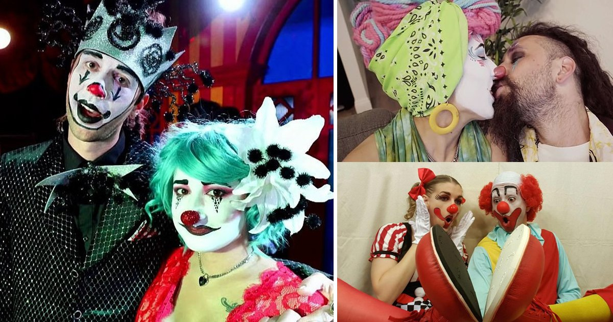 clown sex.jpg?resize=1200,630 - Kinky Couple Addicted To Clown Sex Search For Threesome Partner