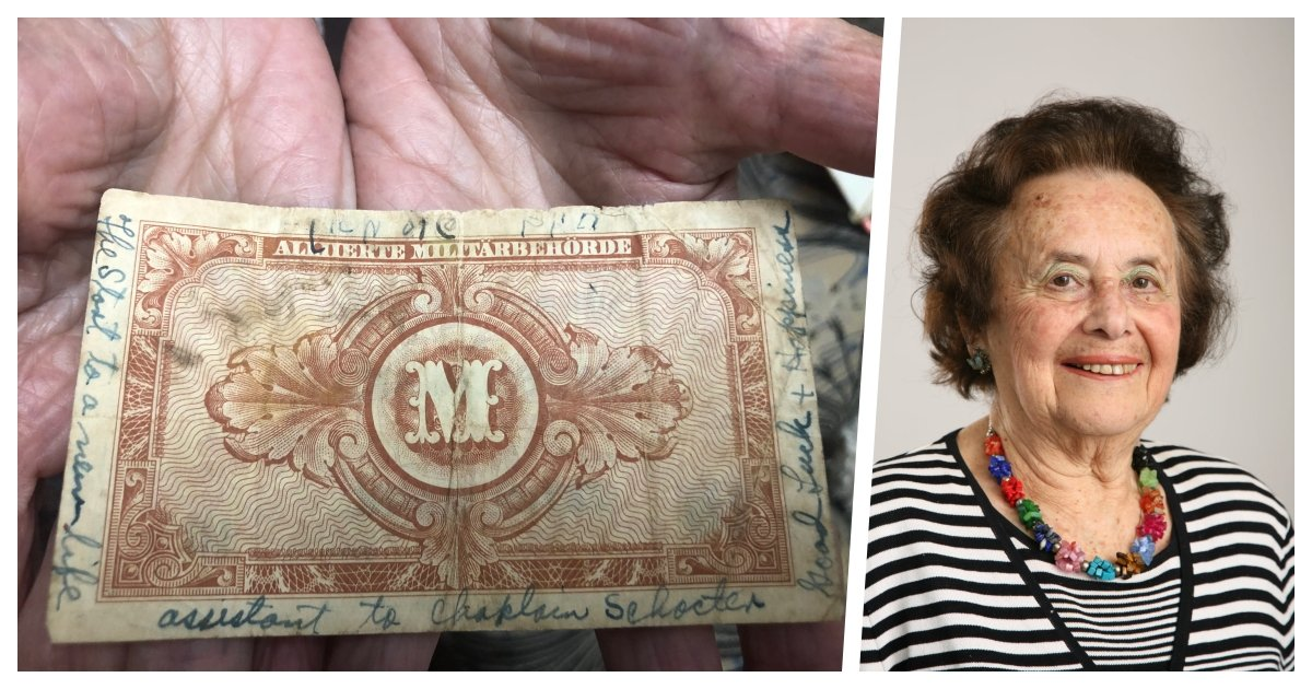 collage 26.jpg?resize=412,275 - Holocaust Survivor to Virtually Meet Family of American GI Who Liberated and Gave Hope to Her
