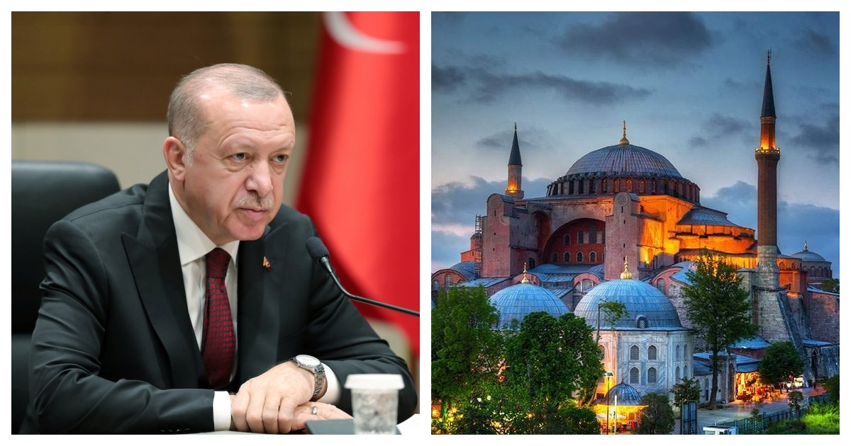collage 29.jpg?resize=412,275 - Turkish President Orders Hagia Sophia Be Converted From A Museum To A Mosque