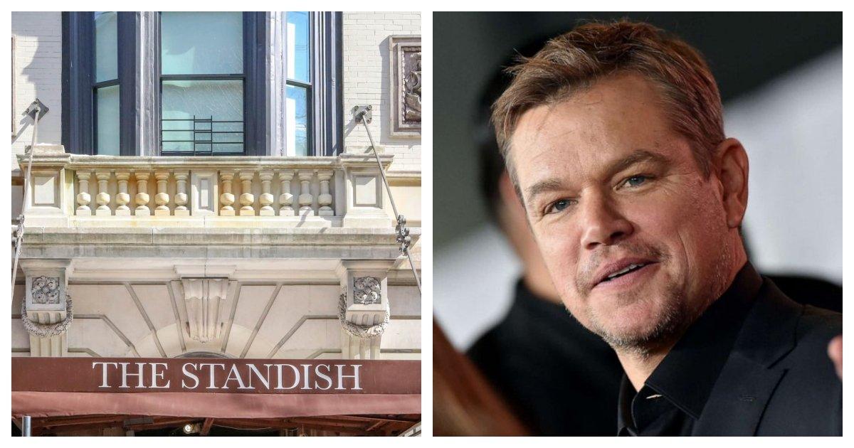 collage 41.jpg?resize=412,232 - Matt Damon Blocks An Entire Street To Move Into His $16.5 Million Penthouse in Brooklyn