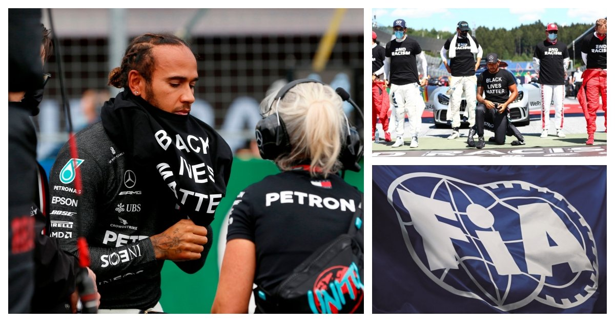 collage 56.jpg?resize=412,232 - Lewis Hamilton Says Colleagues And Executives Are Not Doing Enough To Fight Racism