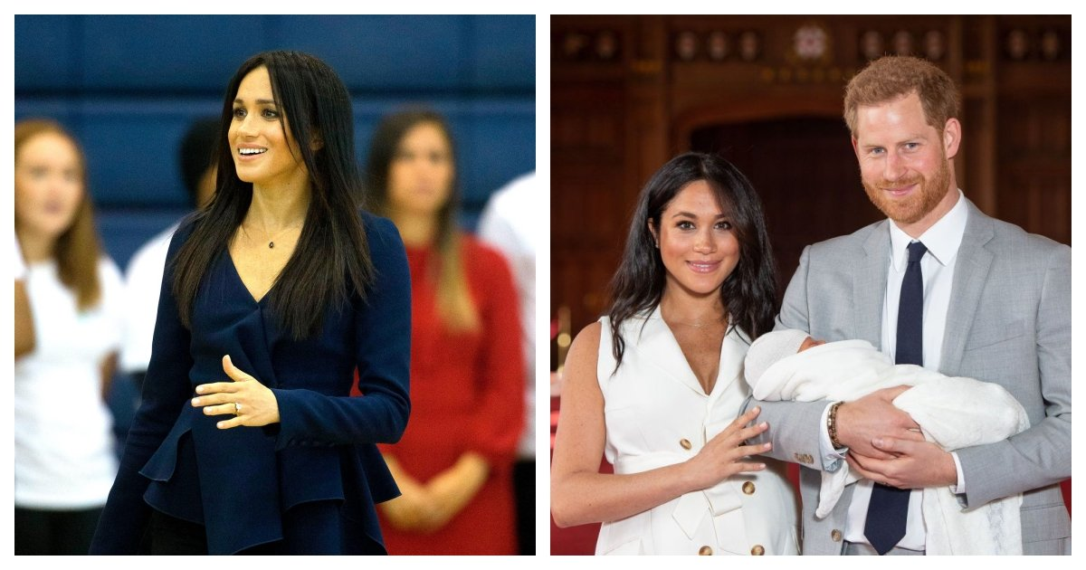 """collage 7.jpg?resize=1200,630 - Meghan Markle Says She Felt """"Unprotected"""" From Tabloid Reports During Her Pregnancy"""
