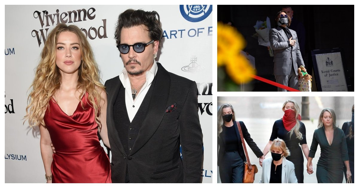 "collage 72.jpg?resize=1200,630 - Johnny Depp's Lawyer Claims The Actor Is Not A ""Wife Beater"" As The Libel Case Closes"