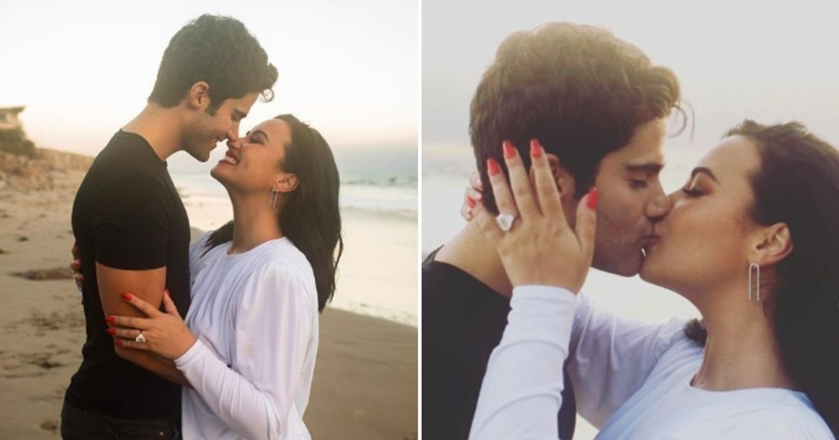 demi5.jpg?resize=1200,630 - Demi Lovato Announces She Is Engaged To Actor Max Ehrich: 'I Knew I Loved You The Moment I Met You'