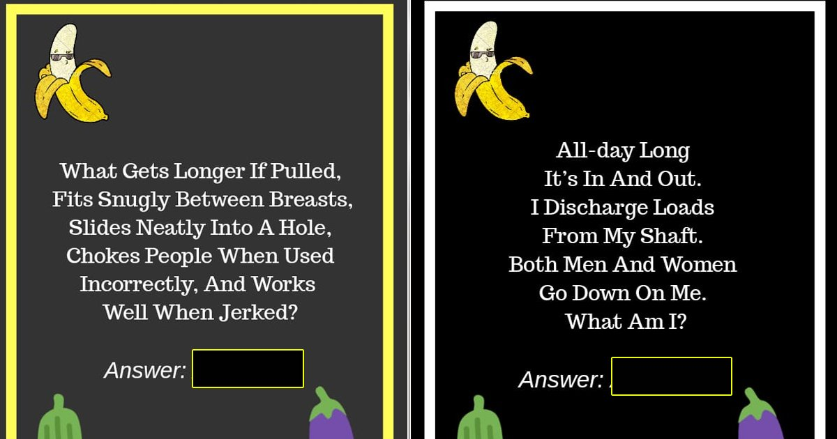 dirty riddles.jpg?resize=412,232 - 10 Dirty Minded Riddles That Redefine Adult Brain Teasers