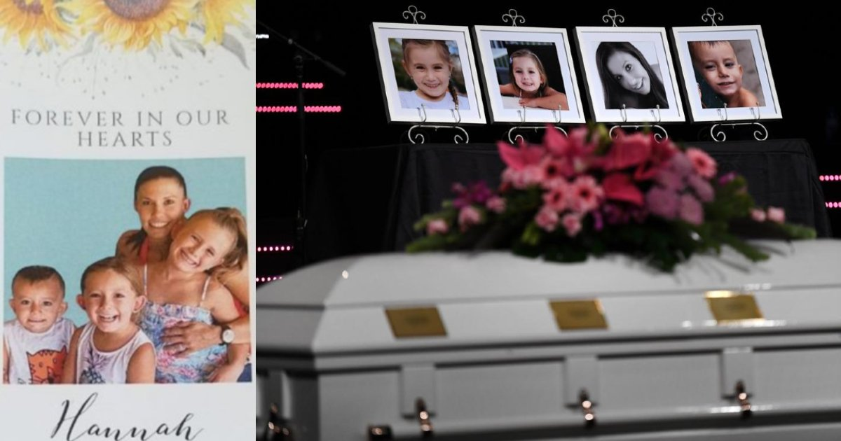e18486e185aee1848ce185a6 4.jpg?resize=412,275 - Heartbreaking Pictures From The Funeral Of A Mother And Her Three Children Sharing A Single Coffin