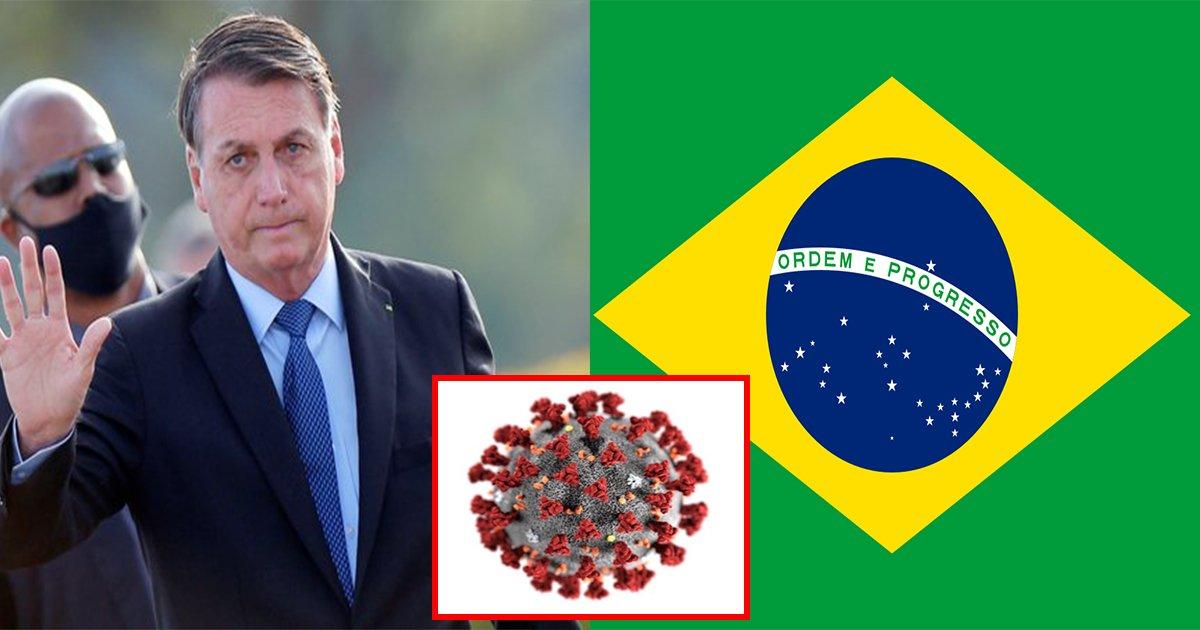 ebb88ceb9dbceca788.jpg?resize=412,232 - ' 이것이 인생이다..' ... 마스크 착용 거부하던 브라질의 대통령 보우소나루 결국 코로나19 확진 판정 받았다