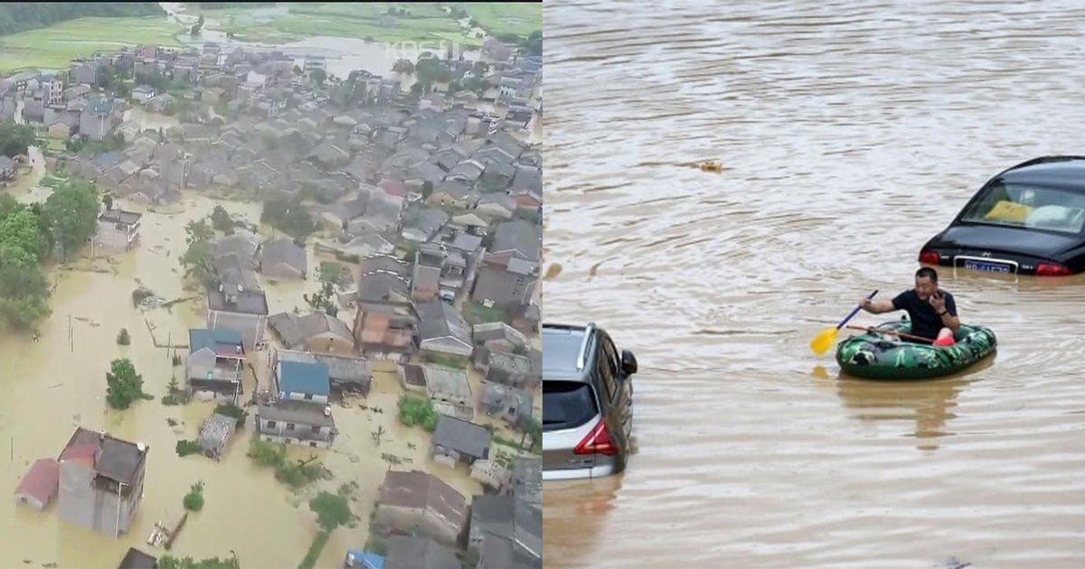 eca491eab5ad.jpg?resize=1200,630 - ' 80년만에 돌아온 대홍수..' ... 계속되는 장마로 4억명 피해 예상되는 최악의 상황에 놓아진 중국