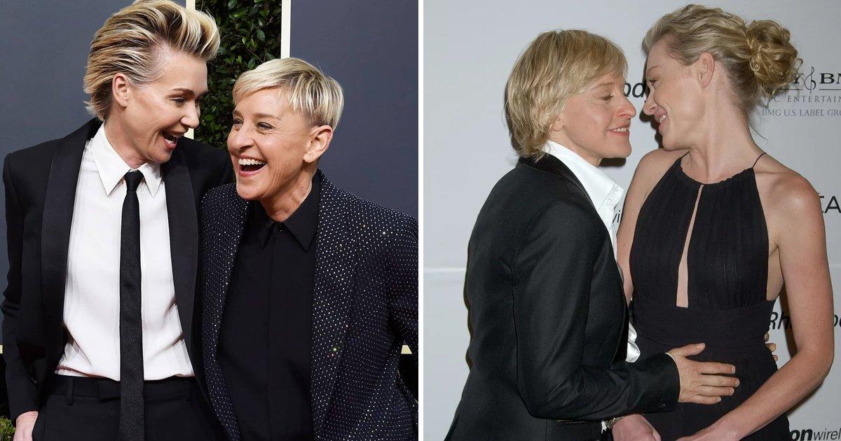 ellen and portia.jpg?resize=412,232 - Are Ellen And Portia Getting a Divorce? Star Duo Finally Address Rumors