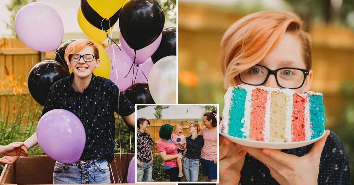 grey6.png?resize=1200,630 - Parents Throw A Gender Reveal Party For Teen After They 'Got It Wrong' 17 Years Ago