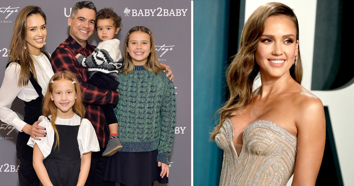 jessica albas kids.jpg?resize=412,232 - Jessica Alba's Kids Are The Star's First Priority And She's Okay With It