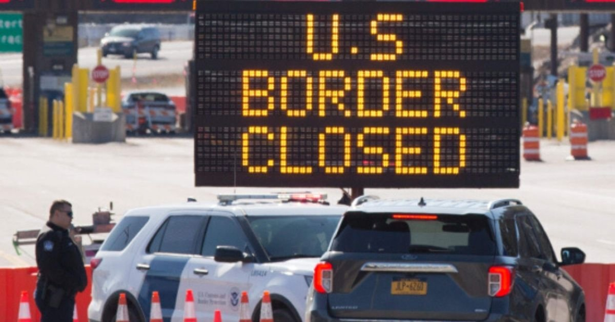 lars hagbergafp via getty images.jpg?resize=1200,630 - Canadians and Mexicans Say That The American Border Should Remain Close