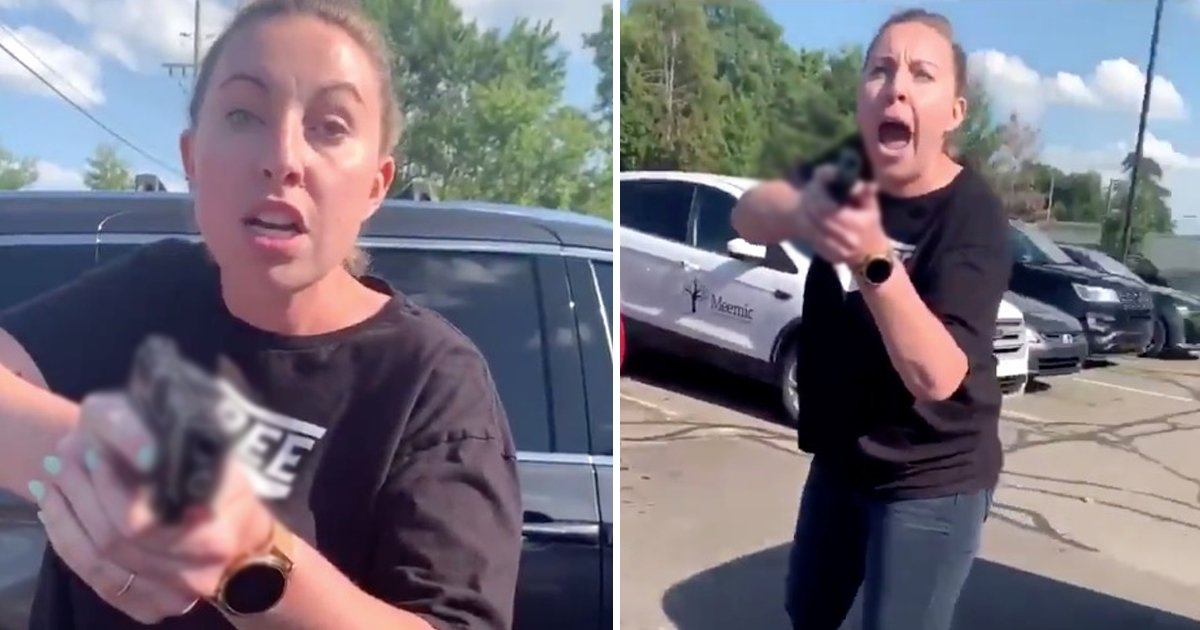 ldsfjlsadf.jpg?resize=1200,630 - Police Arrested Michigan's Woman For Pulling Out A Gun On Black Mother And Daughter