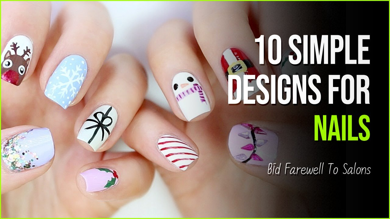 nail designs.jpg?resize=1200,630 - You Can Bid Farewell To Salons With These 10 Simple Designs For Nails