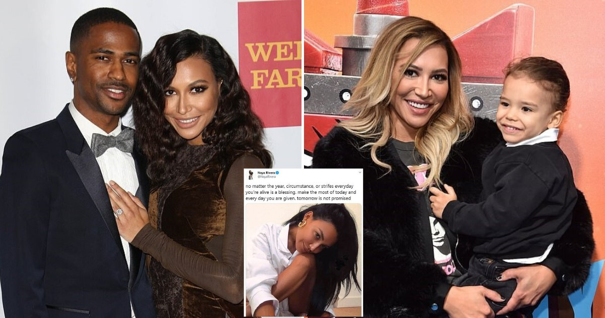 naya6.png?resize=412,232 - Naya Rivera's Ex-Fiancé Big Sean Breaks His Silence Amid Reports The Glee Star Is Presumed Dead