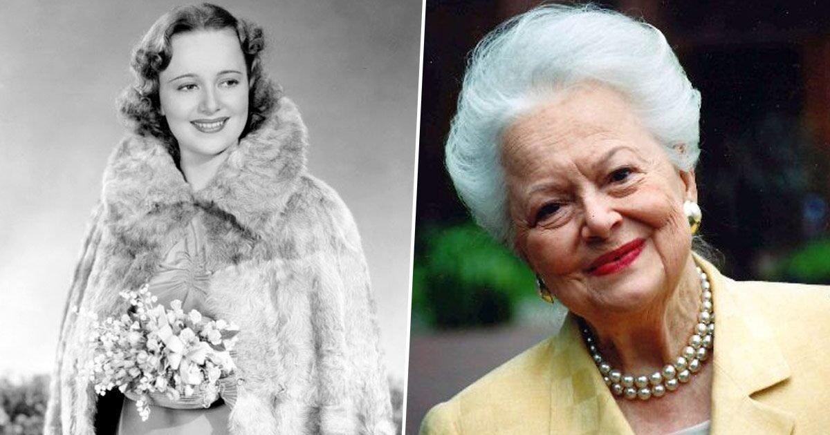 olivia de havilland gone with the wind star dies at e1595869795650.jpg?resize=412,232 - Olivia de Havilland, star de l'âge d'or d'Hollywood, meurt à 104 ans