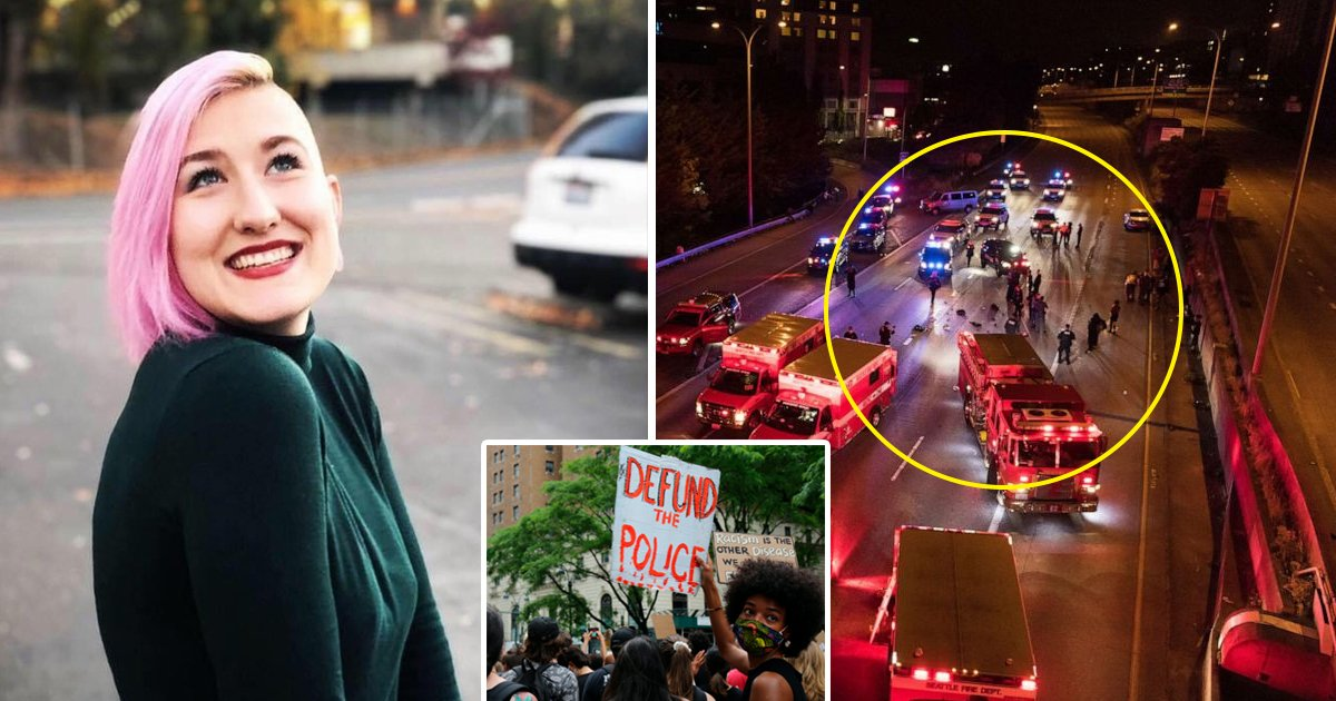 protester dies.jpg?resize=1200,630 - The Speeding Car Hit The 'Black Lives Matter' Protesters, Taking Away The Life Of A Woman