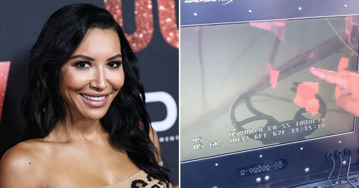 rivera5.png?resize=1200,630 - Footage Shows Underwater Search For Naya Rivera, Her Devastated Mother Seen Kneeling On The Bank Of The Lake